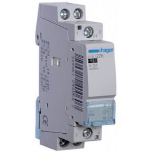 Контактор модульный стандарт 25 А с катушкой на 24 В АС 2Н.О. HAGER ESD225