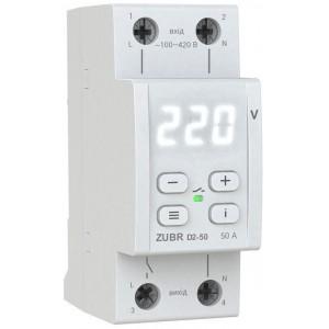 Реле контроля напряжения ZUBR D2-50