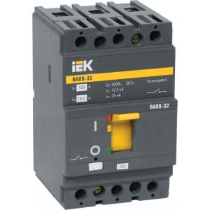 Автоматический выключатель IEK ВА88-32, 3P, 12,5А, 25КА
