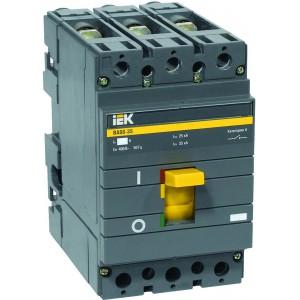 Автоматический выключатель IEK ВА88-35, 3P, 63А, 35КА