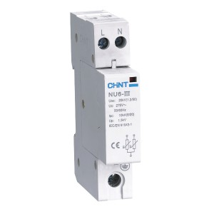 Устройства защиты от импульсных перенапряжений 1P C 40kA