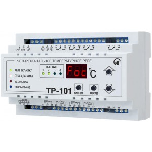 Универсальное температурное реле ТР-101 4 канала