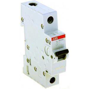 """Автоматический выключатель SH201 тип B 1 полюс 6А ТМ """"ABB"""""""