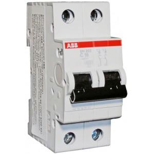 "Автоматический выключатель SH202 тип C 2 полюса 6А ТМ ""ABB"""