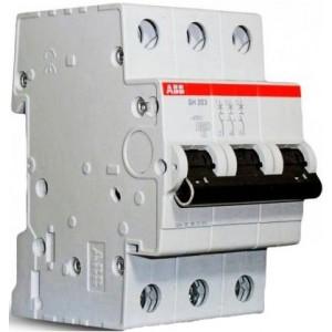 "Автоматический выключатель SH203 тип C 3 полюса 6А ТМ ""ABB"""