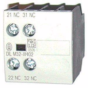 Дополнительный контакт для фронтального монтажа 2 Н.З.  для контакторов DILM7-DILM32