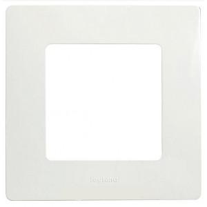 Рамка установочная 1-постовая цвет белый Legrand серии Etika