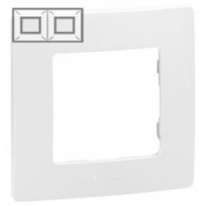 Рамка установочная 2-постовая цвет белый Legrand серии Etika