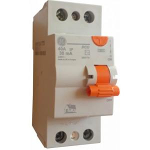 Устройства защитного отключения - УЗО GENERAL ELECTRIC