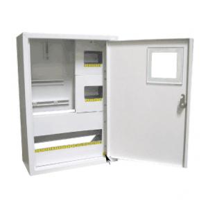 Щит распределения и учета накладной на 24 автомата с местом под 3Х фазный электронный счетчик