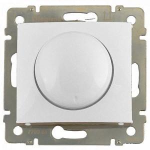 Светорегулятор (димер) поворотный 400ВТ белый legrand серии Valena