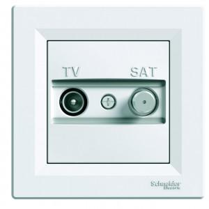 Розетка телевизионная-спутниковая-концевая TV-SAT