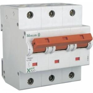 Автоматический выключатель EATON 3 полюса 80A тип C 10КА