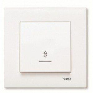 Выключатель одноклавишный проходной c подсветкой