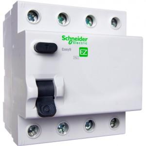 Дифференциальное реле (УЗО) Easy9 4P 40А 100МА SCHNEIDER ELECTRIC