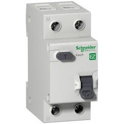 Дифференциальный выключатель SCHNEIDER ELECTRIC Easy9 2P 20А 30МА