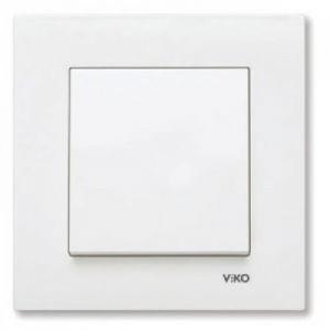 Розетки и выключатели VIKO KARRE - цвет белый